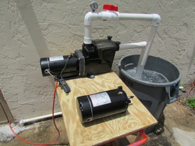 How hot does a pool pump motor get for Pool pump and motor